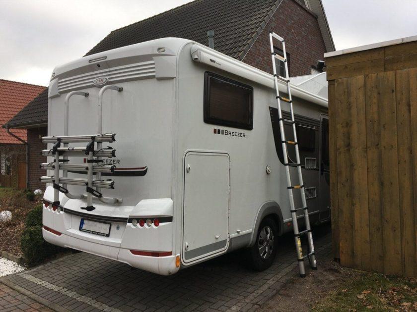 Alu teleskopleiter nicht nur fürs wohnmobil u camping family