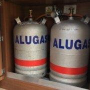 Wechsel auf Alu Gasflaschen