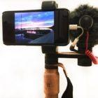 """Ein Smartphone wird zur """"professionellen"""" Videokamera"""