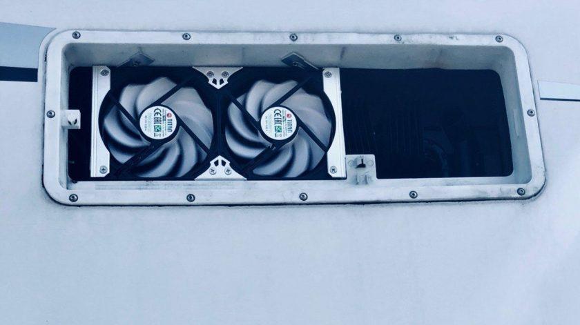 Kühlschrank Lüfter : Mit absorber kühlschrank in der sommerhitze u camping family