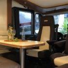 Ein Tisch im Wohnmobil - Nette Aktion in Zeiten von Corona
