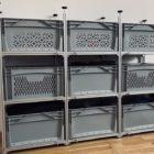 Neues Aluminium Regal für unser neues Wohnmobil